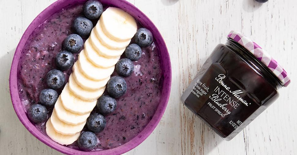 INTENSE Blueberry Smoothie Bowl