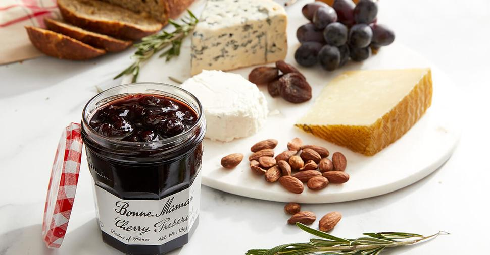 Sweet and Savory Cheese Plate