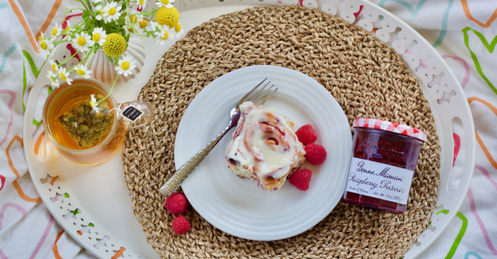 Raspberry Sweet Rolls With Bonne Maman Preserves