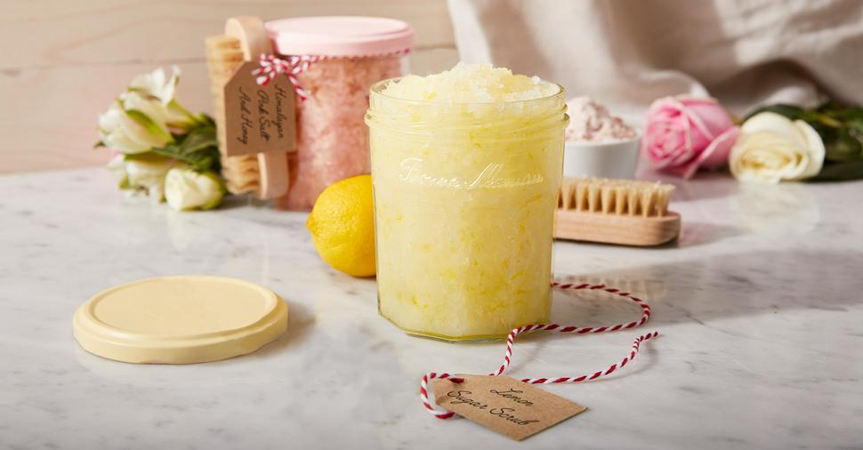 DIY Salt and Sugar Scrubs