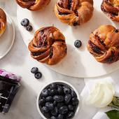 INTENSE Blueberry Babka Bites