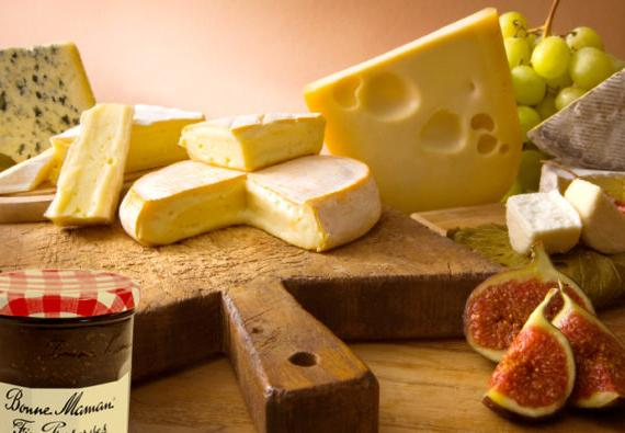 Cheese and Preserves- Bonne Maman